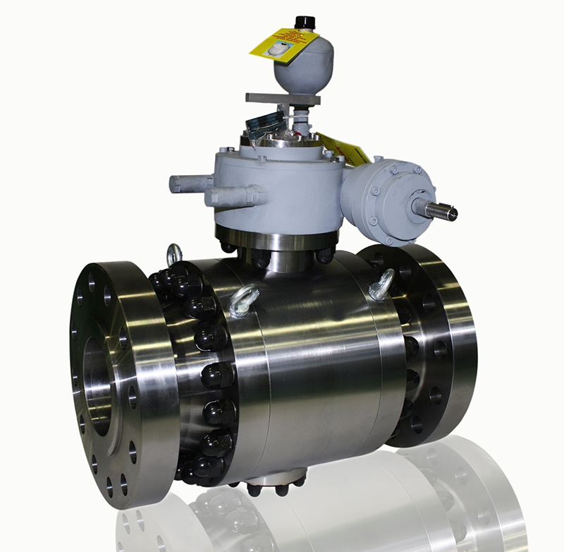 Valves suitable for subsea installations
