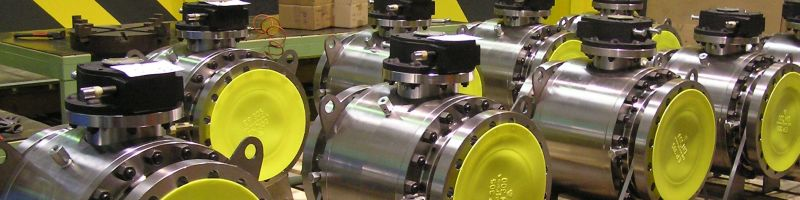 12 inch trunnion ball valves duplex