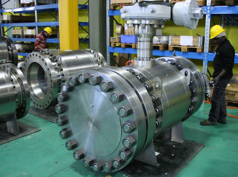 Cryogenic application trunnion ball valves