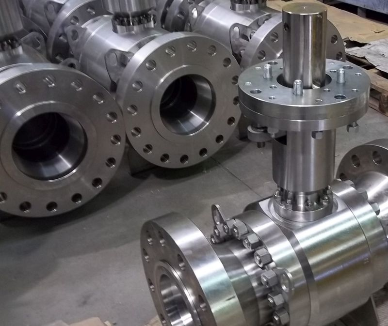High temperature metal seated ball valves (+430°C)