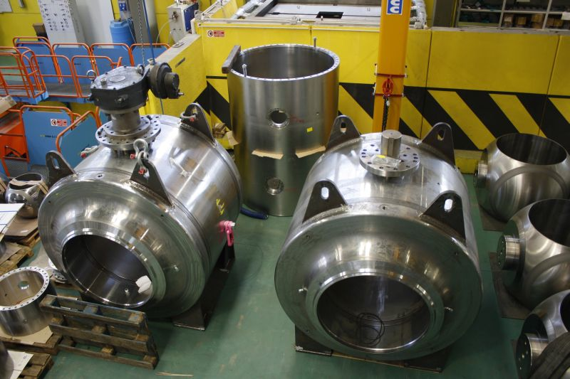 Trunnion fully welded ball valves