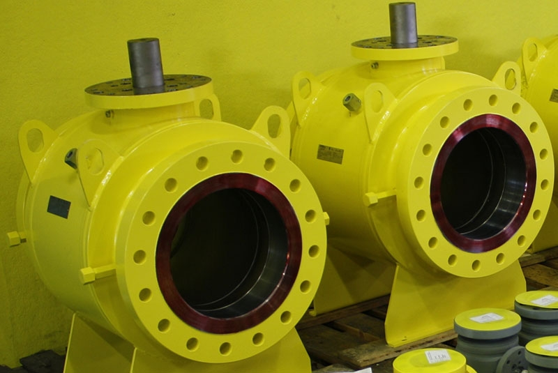 Trunnion side entry 12 300 low pressure
