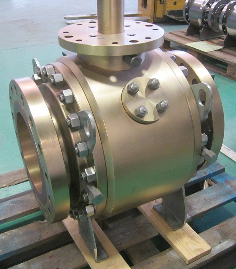 Valve in Alu-Bronze suitable for brackish ansd seawater
