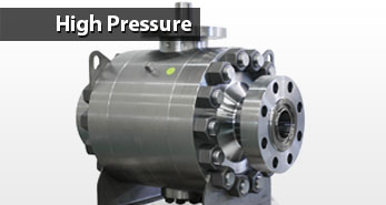 Ball valve applications - High Pressure