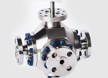 Trunnion Ball Valves - Multiple way- Erreesse valves