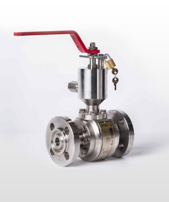 Floating Ball Valve Side Entry Split Body - High Temperature
